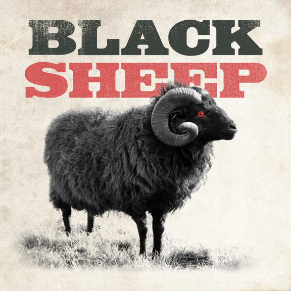 Small rnz black sheep icon