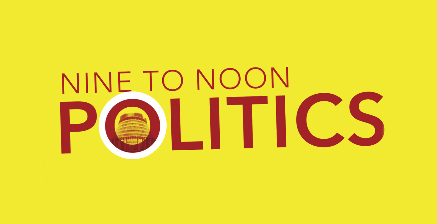 Graphic for Nine To Noon Politics