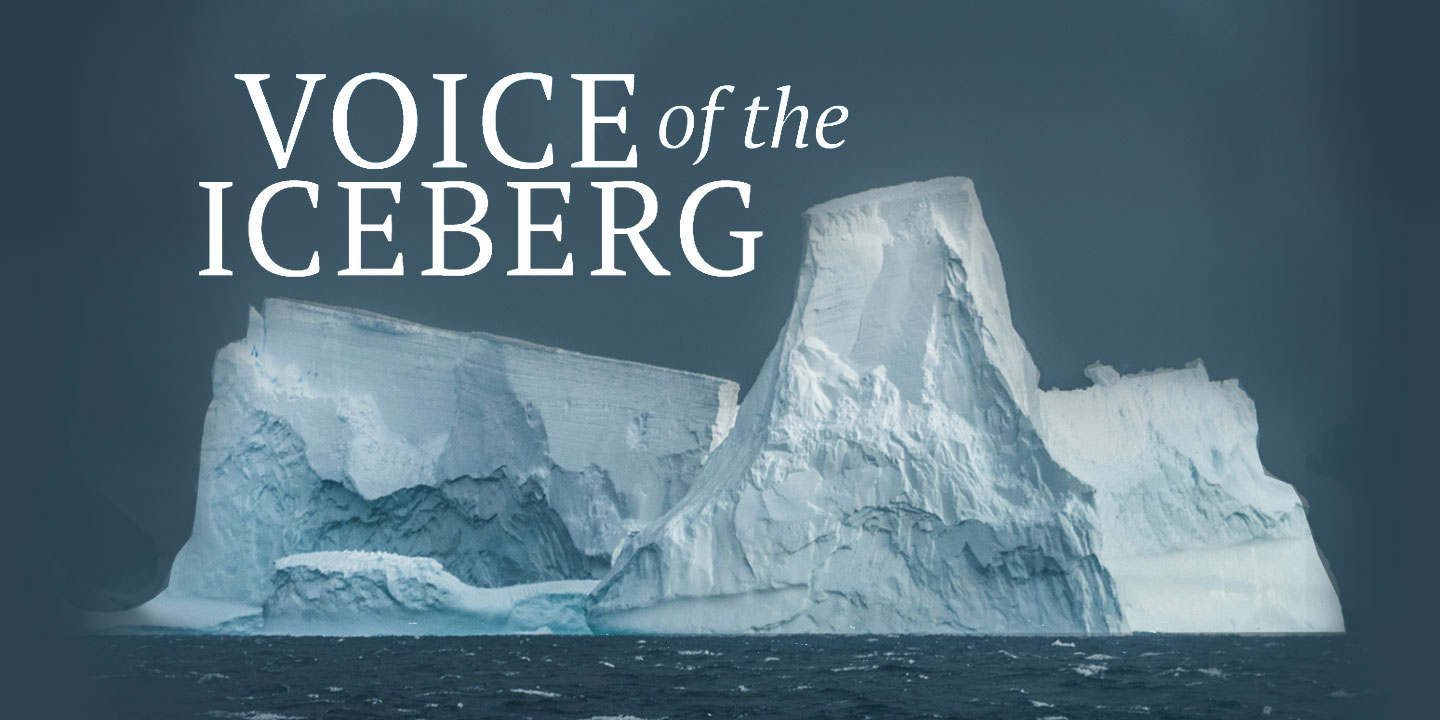 Graphic for Voice of the Iceberg