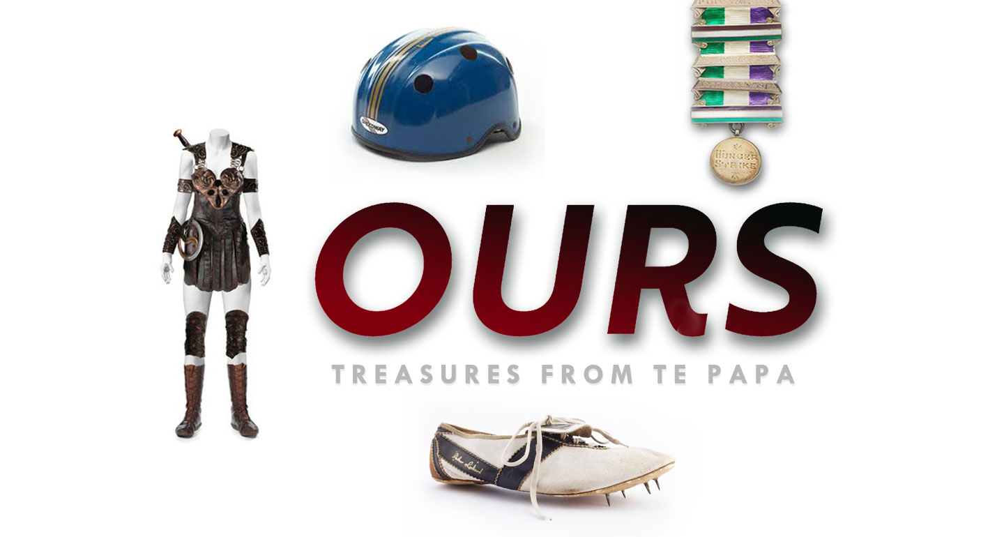 Graphic for Ours: Treasures from Te Papa