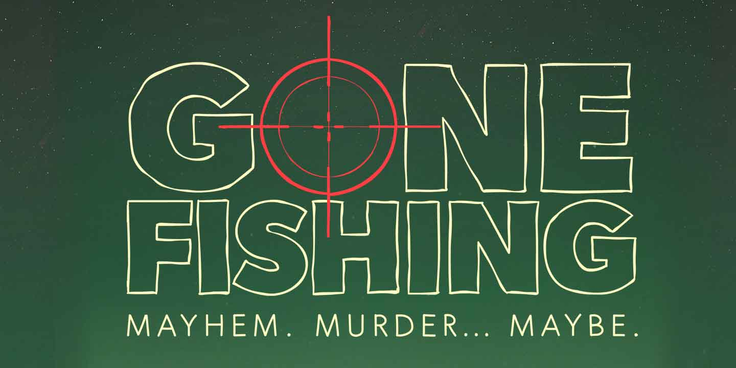 Graphic for Gone Fishing