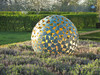100 the mantle bronze garden sphere