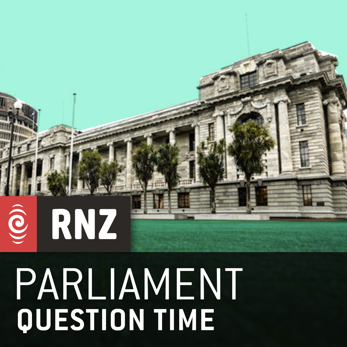RNZ: Parliament - Live Stream and Question Time Logo