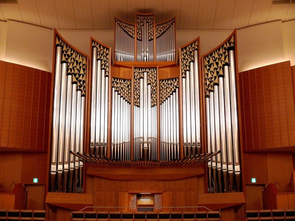 Small kitara large hall pipeorgan